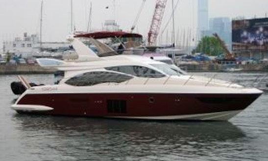 Azimut Yacht Charter In Hong Kong