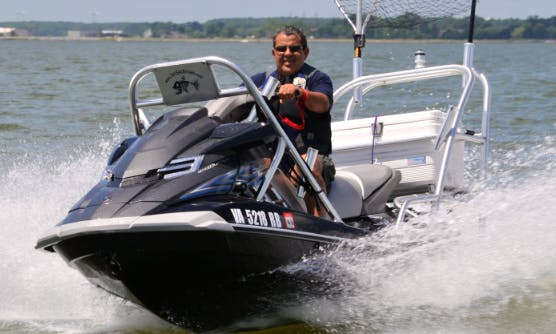 Jet Ski Fishing In Virginia Beach, Virginia United States