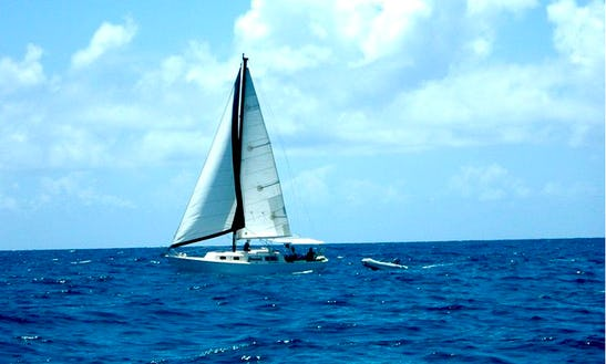 Sailing Charters On 47ft Cruising Monohull In Vieques, Puerto Rico