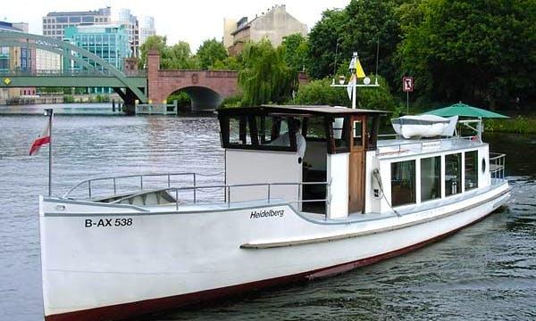 """Charter 57ft """"Heidelberg"""" Canal Boat In Berlin, Germany"""