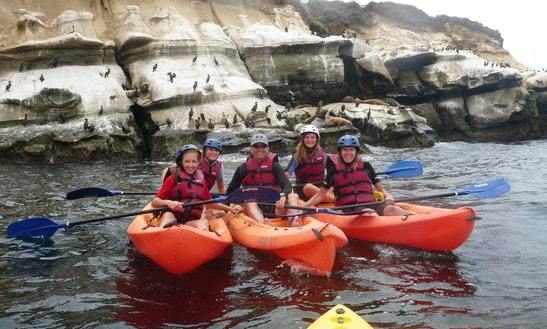 Double Kayak Rental In La Jolla, California