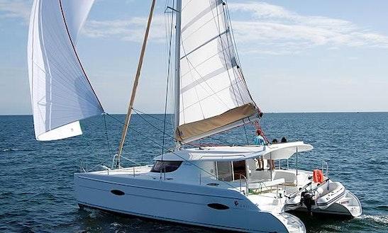 Charter A 41' Fountaine-pajot Lipari Catamaran In Bar, Montenegro