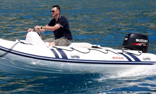 Rent A 14ft Suzumar Rib In Barcelona, Spain