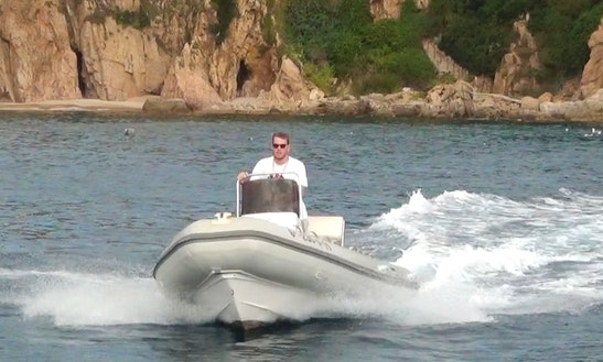 17' Rib Rental In Barcelona