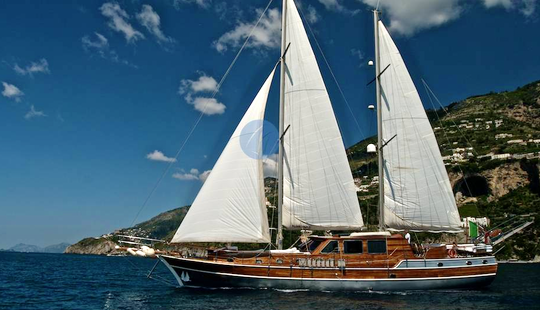 'silver Star Ii' Crewed Sailing Gulet Charter In Milazzo, Italy