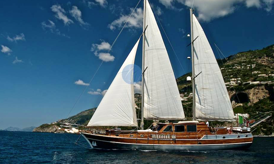 'silver Star Ii' Crewed Gulet Charter In Milazzo
