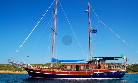 Sail Away On 'alissa' Crewed Gulet Charter In Cagliari, Sardinia