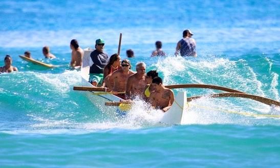 Canoe Rides In Waikiki