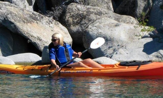 Single Sit-on-top Kayak Rental In Kings Beach, California