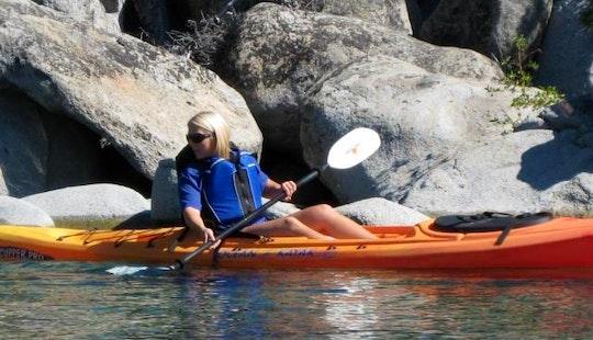 Single Sit-on-top Kayak Rental In Kings Beach, California
