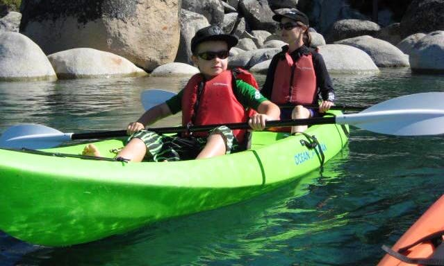 Tandem Kayak Rental in Kings Beach, California