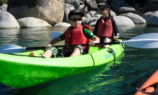 Tandem Kayak Rental In Kings Beach
