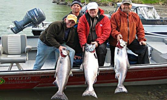 King Salmon Fishing Trips In Soldotna, Alaska