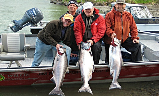 King Salmon Fishing Trips In Soldotna, Alaska