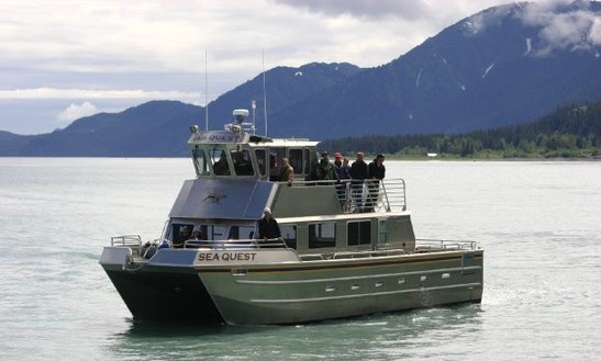 48' Cruising Catamaran Charter In Seward, Alaska