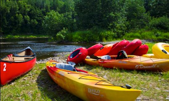 Tandem Kayak Rental In New Brunswick