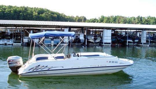 21' Deck Boat Rental On Bull Shoals Lake, Arkansas