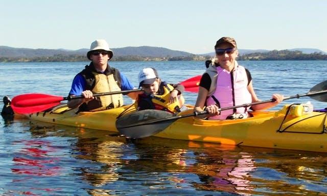 Boreal Design Esperanto Tandem Kayak Rental in Copper Harbor, Michigan