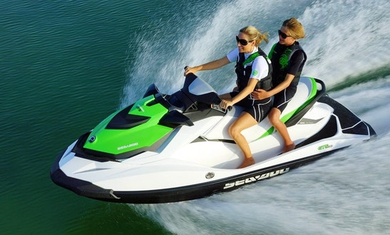 Hire A 2014 Seadoo Jet Ski For 3 Person In Ibiza, Spain