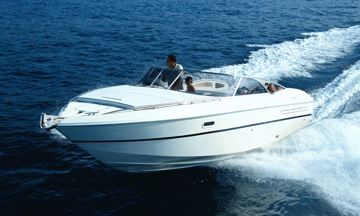 "Rent ""TAMBA"" Fiart 27 Sport Yacht in Ibiza, Balearic Islands"