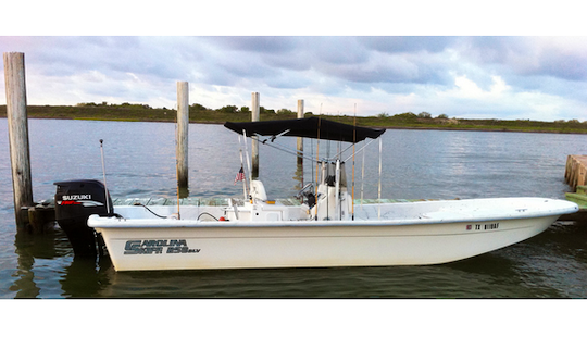 Guided Fishing Charters From Port O'connor, Texas