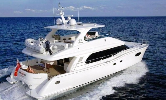 Charter A 60' Luxury Power Catamaran