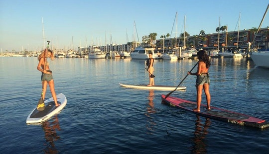 Paddleboard Lessons & Rentals In Marina Del Rey