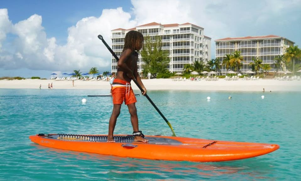 Guided Stand Up Paddle Board Tour in Caicos Islands, Turks and Caicos Islands
