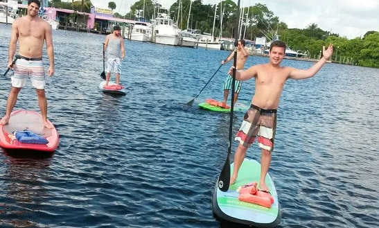 Stand Up Paddleboard Rental In Stuart, Florida
