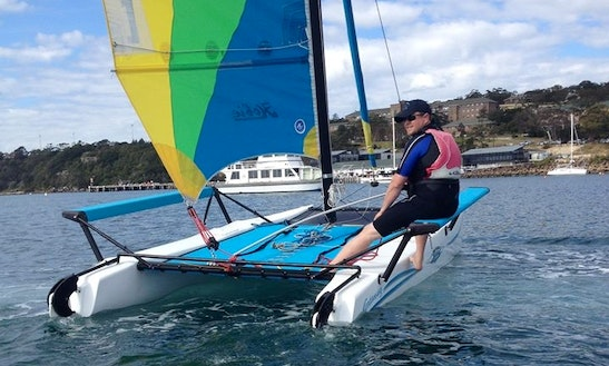Hobie Getaway For Hire On Sydney Harbour