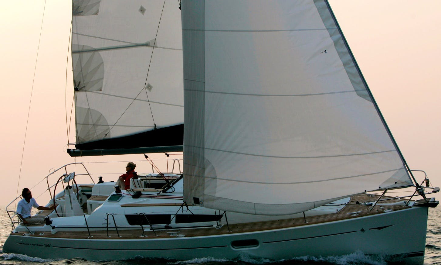 "Captained Charter on ""Tourette"" Sun Odyssey 36i Sailboat in Queensland"