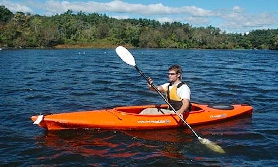 Single Kayak Rental On Lake Elsinore
