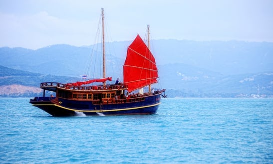 The Red Baron Sailing Cruise In Thailand