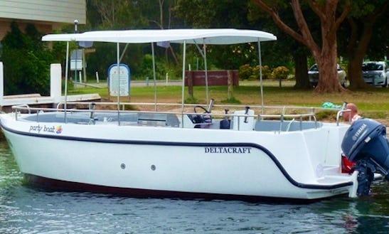 Hire Party Boat At Lake Macquarie
