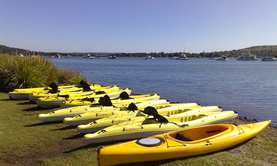 Kayak Hire At Cams Wharf