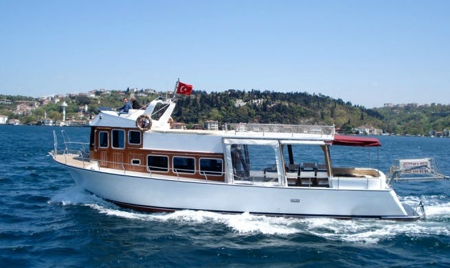 2 Hours Private Cruise for 40 Person in Istanbul, Turkey