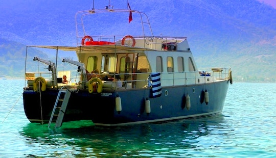 Charter Catamaran For The Day From Marmaris