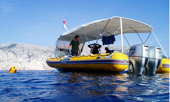 Dive Adventure for 10 Person in Sardinia, Italy with 30' RIB