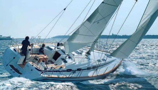 46' Cruising Monohull Skippered Charter In Jezera