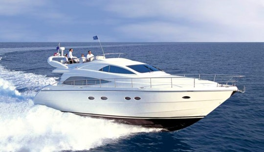57' Motor Yacht My Joy For Charter In Voula