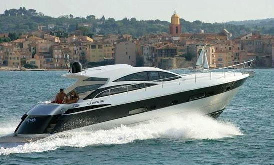 Pershing 56 Luxury Yacht