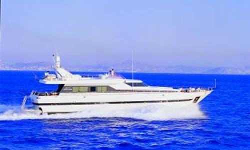 Bon Viveur a 90' Motor Yacht for Charter in Voula