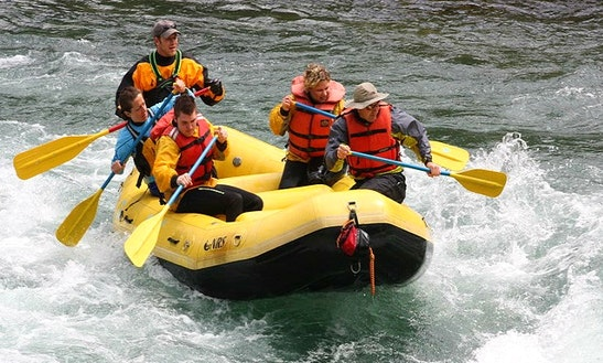 13' Raft Rental On Yakima River, Washington
