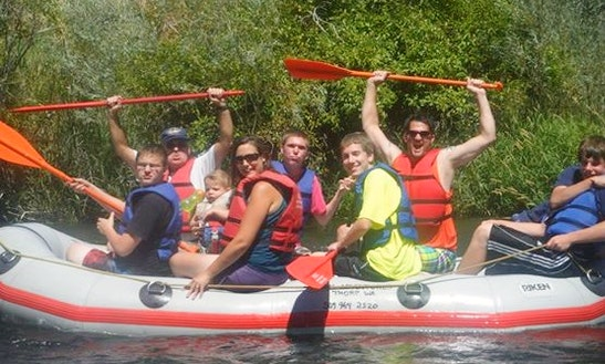 12' Raft Rental In Yakima River
