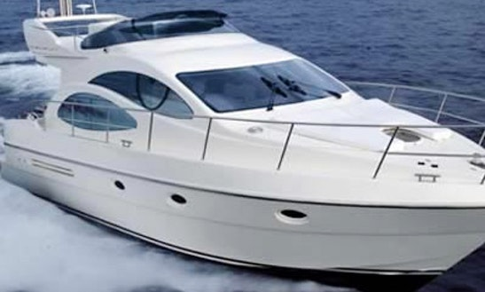 Azimut 42 Yacht Charter In Nice