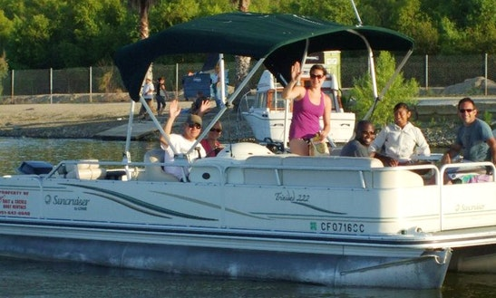 Pontoon Lake Tour On Lake Elsinore