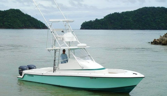 Ultimate Luxury Fishing Trip With 32′ Contender Boat In Costa Rica