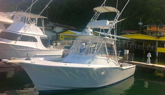 Get Into The Big Fish With 33′ Fishing Charter In Costa Rica