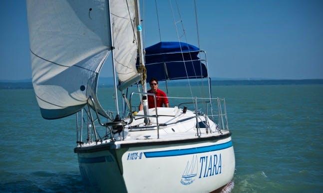"Charter ""Tiara"" 33' Sailing Yacht in Siófok"
