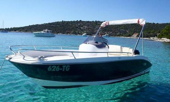 An Amazing Rental Experience In Trogir, Croatia On Sessa Key Largo One Center Console